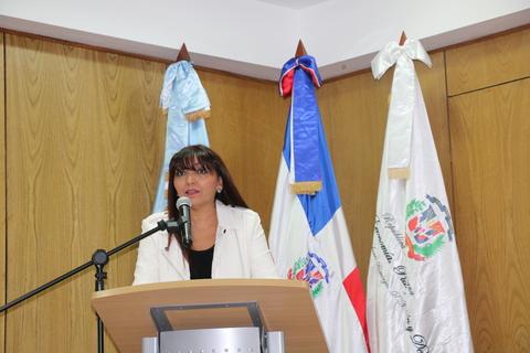 Gloria Ortega, consultora de la Oficina Nacional de Estadística en la elaboración del Análisis de Situación Poblacional de la República Dominicana