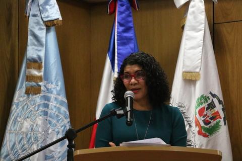 Sonia Vasquez, Representante Nacional del Fondo de Población de Naciones Unidas (UNFPA)