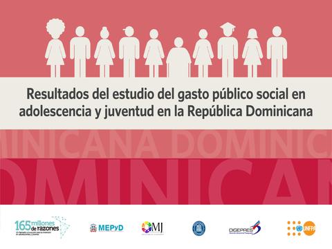 ¿Cuánto invierte el Estado dominicano en cada joven?